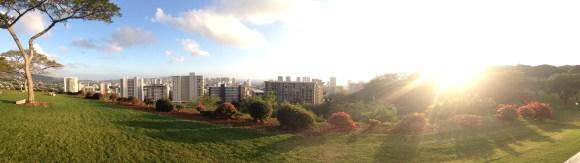 Panoramic of Honolulu
