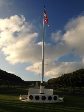 Flag at the Entrance
