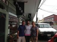 Ted, Belinda and I!