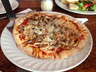 Belinda and I shared this amazing pizza!