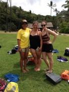 Tia, Liz and I