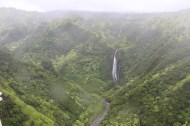 Waterfall from Jurassic Park (also known as Manawaiopuna Falls).