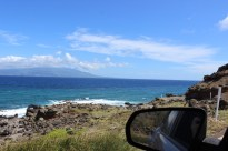 Maui in the distance.