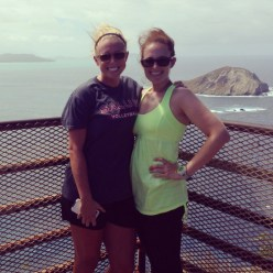Bailey and I at the top of Makapu'u Lighthouse trail.