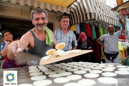 - Name: Ratib Al Safadi - Location: Sidon, Lebanon - Date: 10 July 2013 - Title: The man prepares kind of Ramadan sweets / The man prepares kind of Ramadan sweets in the city of Bierut, Lebanon - Description: The man prepares kind of Ramadan sweets in the city of Bierut, Lebanon / The man prepares kind of Ramadan sweets