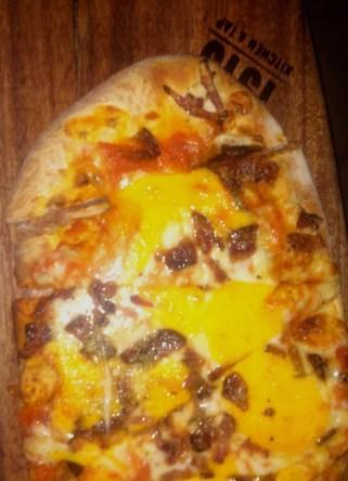 Bacon Cheese Curd Flatbread