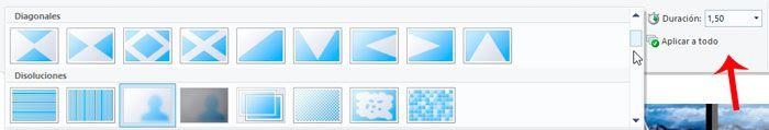 poner fundidos entre foto y foto en un vídeo en movie maker