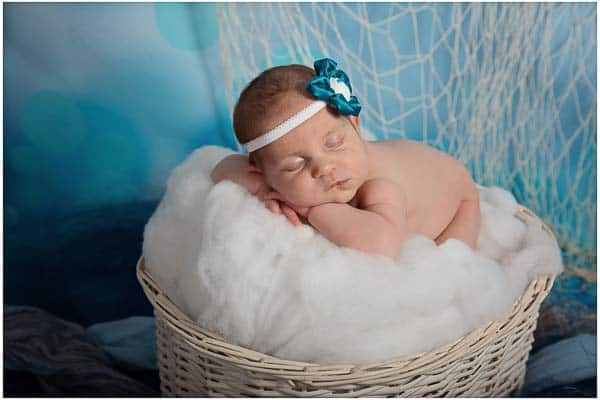 picture of a newborn sleeping