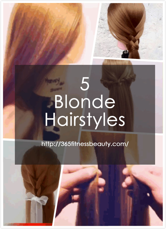 5 Blonde Hairstyles You Might Find Useful