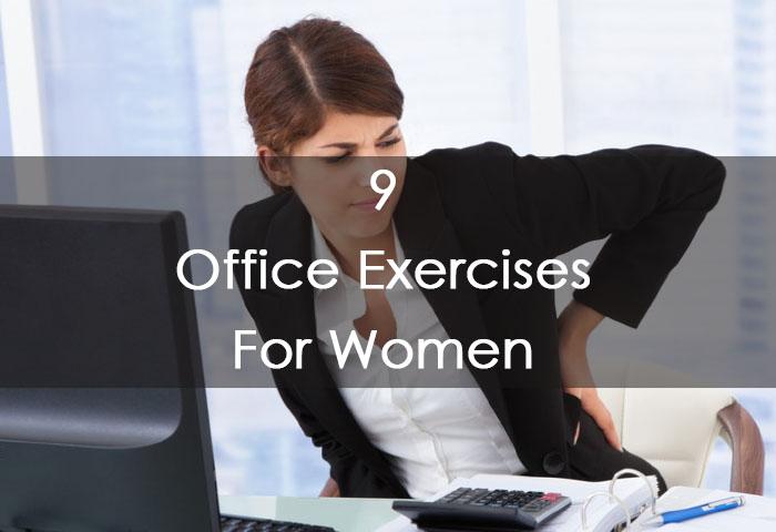 9 Office Exercises For Women