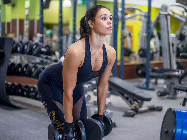 Perfect Deadlift With Dumbbells
