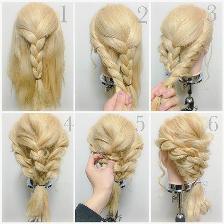 9 step-by-step Hairstyle Tutorials 09