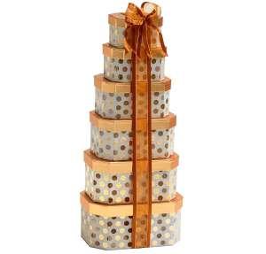 Broadway Basketeers Gourmet Chocolate Gift Tower