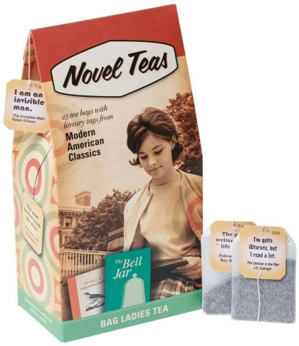 Gifts for Book Lovers That Aren't Books, novelty tea bags