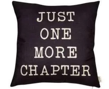 Literary Throw Pillow Cushion Cover