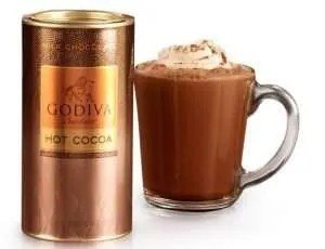 chocolate gifts, Chocolatier Milk Chocolate Hot Cocoa Canister