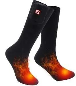 cold weather gift ideas, Rechargeable Electric Heated Socks