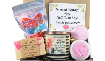 Custom Valentine Gift Box, valentines day gifts for her