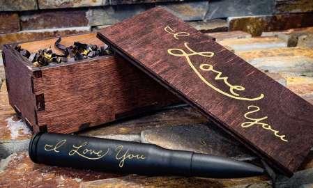 Engraved Bullet Bottle Opener, valentines day gift for boyfriend