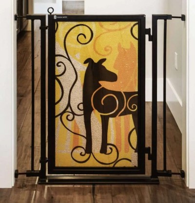 Fusion Gates with Limited Edition Dream Dog Art Screen Design