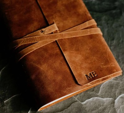 Harry Potter Inspired Leather Journal, best valentines day gifts for girlfriend