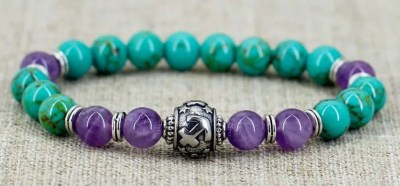 Zodiac Amethyst Bracelet, best valentines day gifts for girlfriend