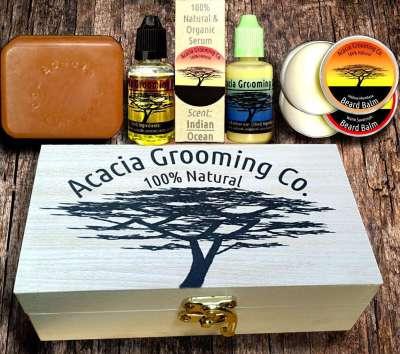 Acacia Grooming Co. Personalized Beard Gift Box