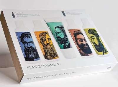 Beardsley Beard Shampoo and Beard Conditioner Flavor Set