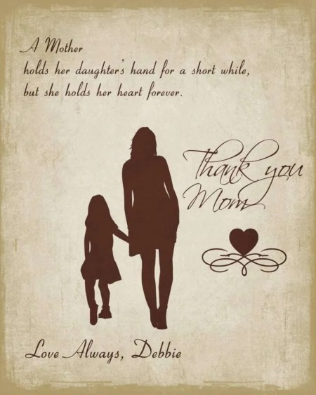 'A Mother Holds' Poster