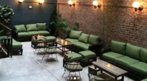 Bonnie Vee Happy Hour Outdoor Bar NYC