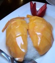 Wondee Siam Thai Mango Sticky Rice NYC New York City