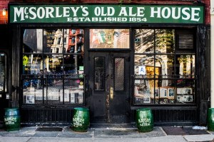 McSorley's Old Ale House St. Patty's Day NYC New York City 365 Guide