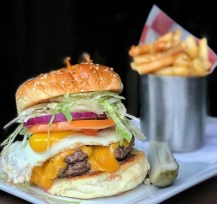 Grayson Football Burger NYC 365 Guide New York City Monica DiNatale