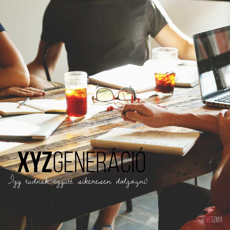 Az XYZ generáció harca - Erre a 6 dologra kell figyelni, ha jól akarnak együtt dolgozni! | xyz-generacio_365letszikra_1170x1170_pixabay-com