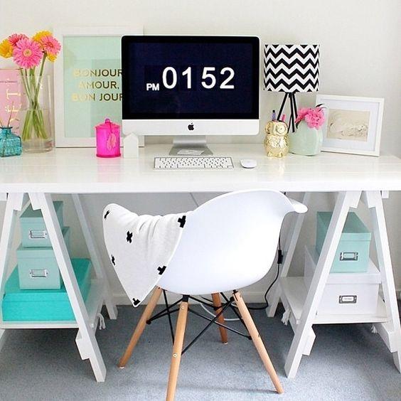 Kreatív irodai dekoráció, home office_ 365letszikra.hu_Szlafkai Éva