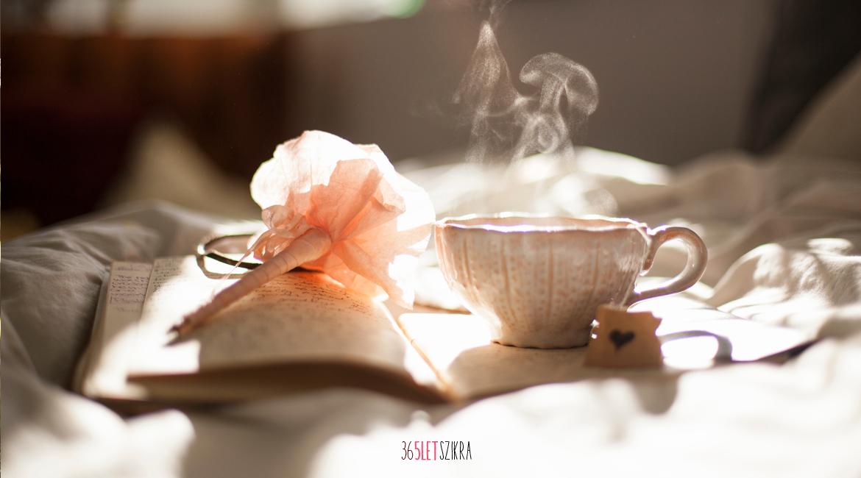 Reggeli tea meditáció | 365letszikra.hu