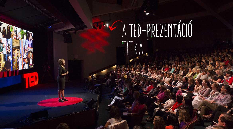 A tökéletes előadás titka: használd a Szent Kézigránátot! Ez a TEDesek fegyvere.