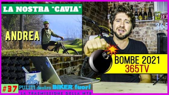 copertina puntata 37 puliti dentro biker fuori