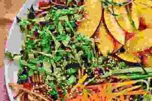 Συνταγή για noodles: Παγωμένα γλυκόξινα soba noodles - Shape.gr