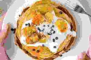 Τι να φάω για πρωινό; Συνταγή για υγιεινά pancakes από την Έλενα Παπαβασιλείου
