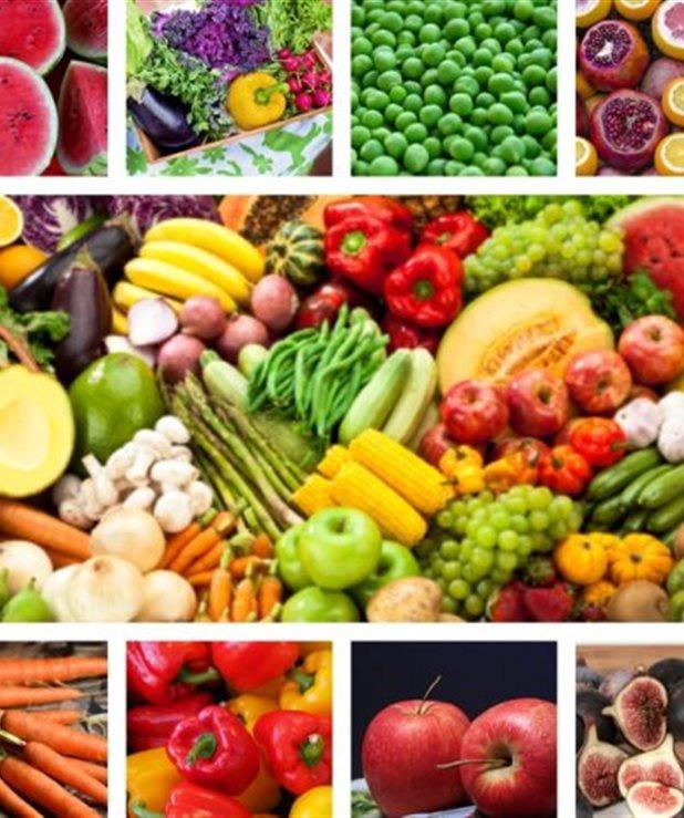 Φρούτα και λαχανικά ανά εποχή (μήνα μήνα)