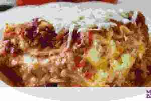Εύκολη συνταγή για λαζάνια φούρνου με κιμά χωρίς μπεσαμέλ (vid)