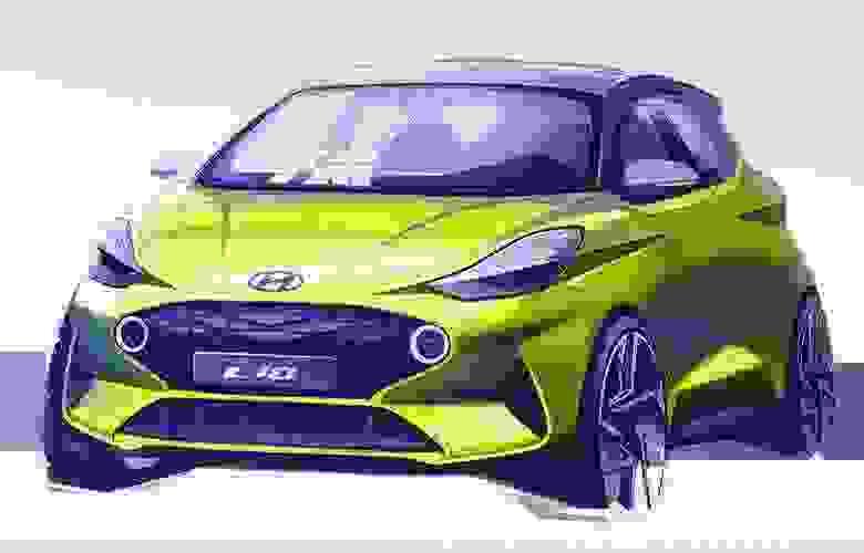 Η πρώτη σχεδιαστική απεικόνιση του ολοκαίνουργιου Hyundai i10