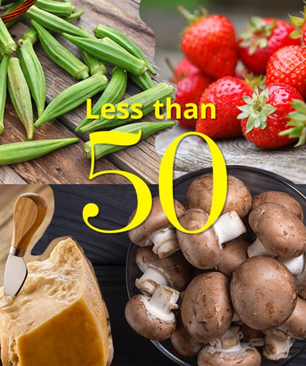 15 φαγητά με λιγότερο από 50 θερμίδες
