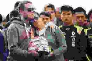 Αντουάν Ουμπέρ: Συγκινητικό  αντίο  από τους οδηγούς, λύγισε η μητέρα του