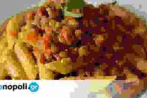 Κιμάς από φακές, της Ελένης από το food blog The Veggie Sisters