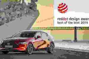 Βραβείο στο νέο Mazda3