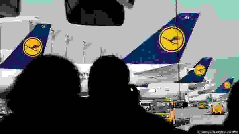 Εκατοντάδες ακυρώσεις λόγω της απεργίας στη Lufthansa | DW | 08.11.2019
