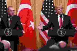 Πενιχρά αποτελέσματα της επίσκεψης Ερντογάν στις ΗΠΑ | DW | 14.11.2019