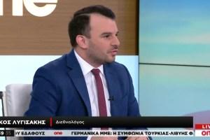Ν. Λυσιγάκης στο One Channel: Ανορθολογική η στάση της Τουρκίας στη διεθνή σκακιέρα - Ειδήσεις - νέα - Το Βήμα Online